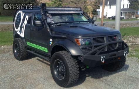 lifted jeep nitro wheel offset 2011 dodge nitro slightly aggressive