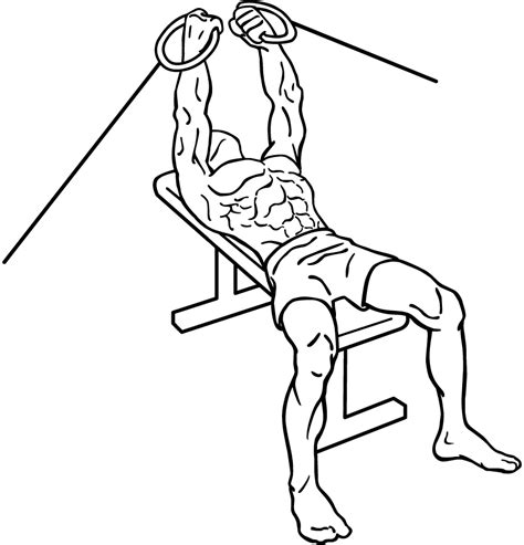 flat bench cable fly cable chest flys add one of our cable exercises to your