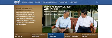 white house website the white house website has already been scrubbed of any mention of climate change