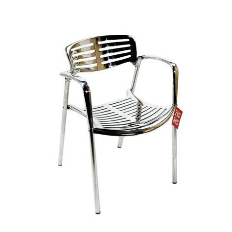 Toledo Chair by Knoll Jorge Pensi Toledo Aluminium Chair 2ndhnd