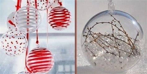 Comment Decorer Des Boules De Noel Transparentes by Pin By Commeunelibellule On D 233 Co F 234 Tes
