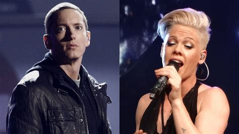 eminem pink p nk admits to hitting up a bottle before hitting up
