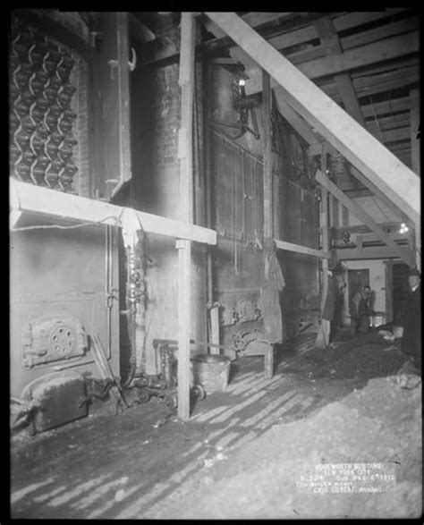 the boiler room nyc nyc vintage photos the construction of nyc s woolworth building subterranean levels untapped