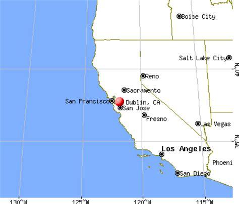 dublin california map dublin california ca 94551 94568 profile population