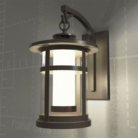 Revit Wall Sconce Rutherford Sconce 3d Model Formfonts 3d Models Textures
