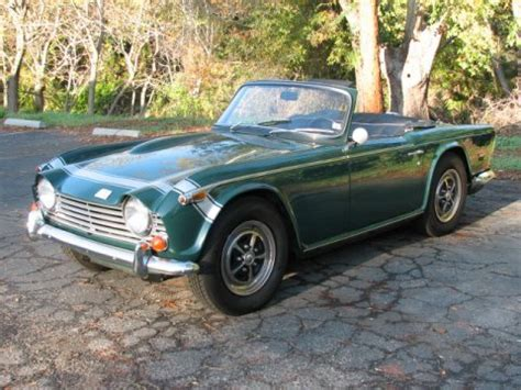 250 tr for sale bat exclusive black plate 1968 triumph tr250 bring a