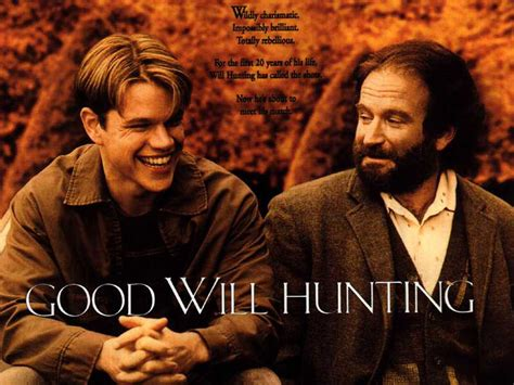 film it is good passion for movies good will hunting thought provoking