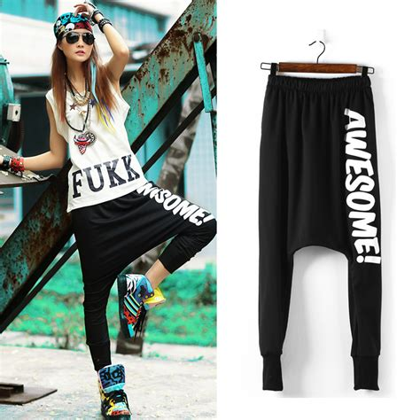 about dance on pinterest clothes for girls sweatpants and red high 2015 new womens summer hip hop casual baggy harem pants