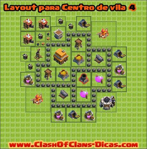 layout vila cv 4 dicas de layouts para clash of clans todos os centro de