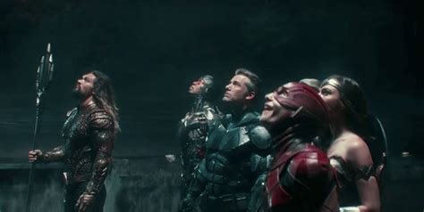 justice league film photo justice league tv spot putting together the team