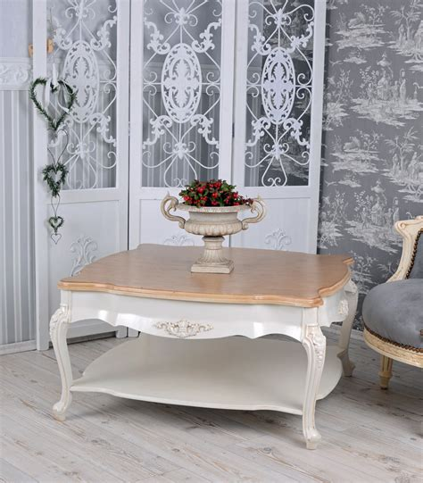 shabby chic side table vintage table living room table shabby chic coffee table