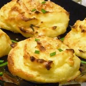 Onion cheese mashed potato puffs recipe food pinterest