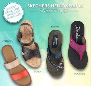 Sketchers Gift Card - skechers women s sandals giveaway 10 winners grand prize 250 skechers gift card