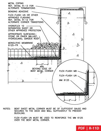 section 11d american hydrotech inc green roofs garden roofs