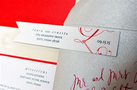 Guest Address Labels For Wedding Invitations