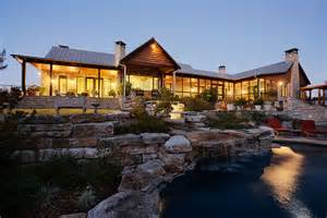 country ranch homes hill country ranch estate rustic exterior