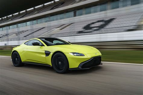 2019 Aston Vantage by 2019 Aston Martin Vantage Drive Review Tilting At