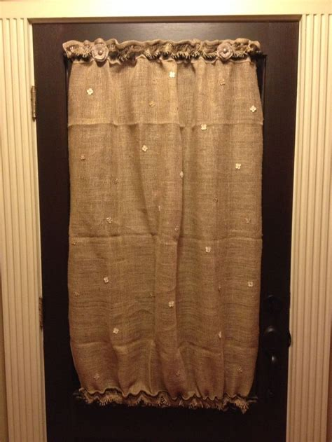 burlap coffee bag curtains 32 best images about burlap coffee sack on pinterest