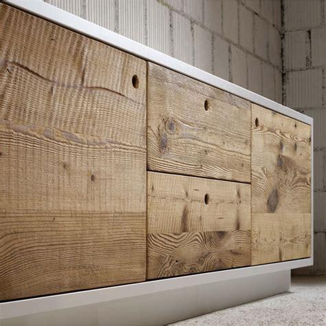 credenze legno grezzo credenza vintage legno grezzo su misura jpg 950 215 950
