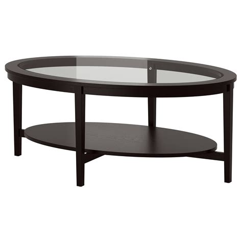 idea coffee table malmsta coffee table black brown 130x80 cm ikea