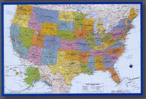 usa road map poster 36 quot x24 quot usa highway poster map wholesale china