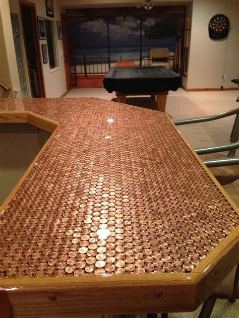 penny bar top 17 best images about bar tops on pinterest wine cellar