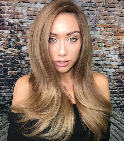 hairstyles with lighter colred top dark blonde light brown hair style hair color blonde