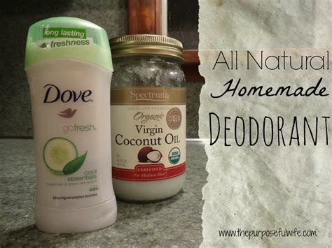 Handmade Deodorant - the purposeful deodorant