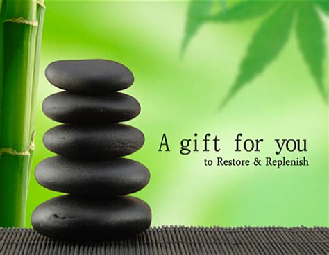 Massage Therapy Gift Cards - gift certificates