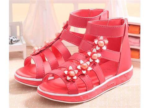 Berkualitas Wedges Mutiara 1630 1 sepatu anak anak untuk gadis esigner sandal sepatu hak
