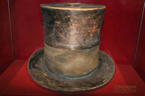 what of hat did abe lincoln wear abraham lincolns original hat www imgkid the image