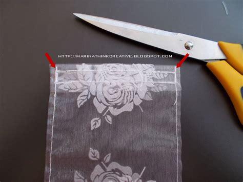 sacchetti organza tutorial tutorial come fare sacchettini regalo in organza
