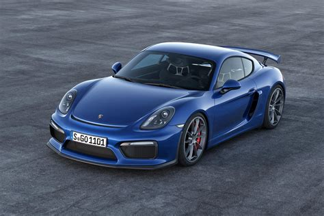 Geneva 2015 Porsche Cayman Gt4 Revealed Ahead Of Show