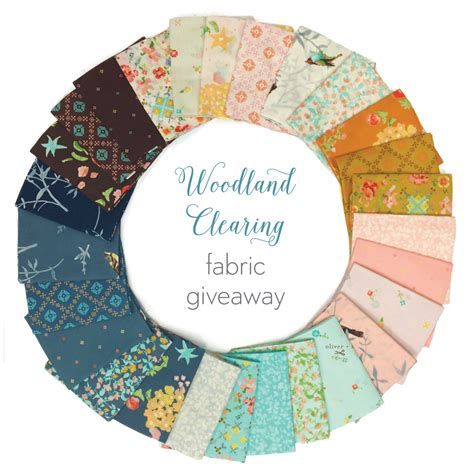 Fabric Giveaway - woodland clearing fabric giveaway blog oliver s