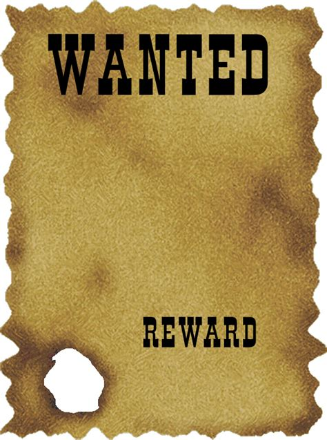 a wanted poster template foto wanted