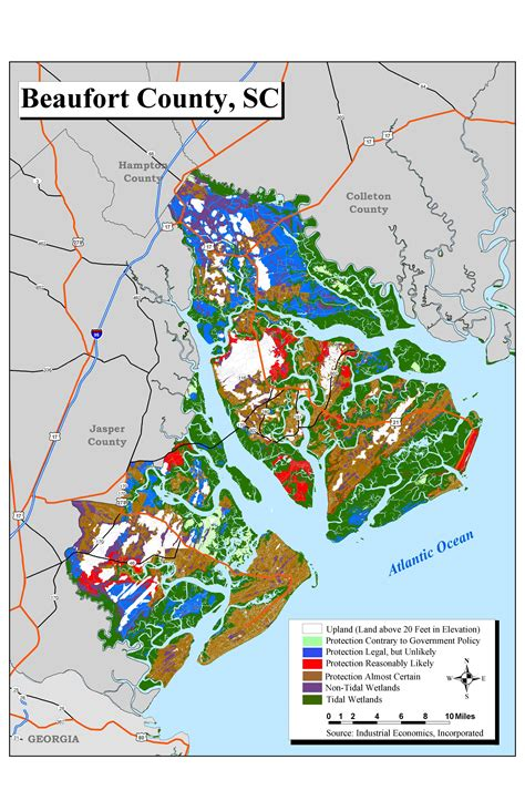 beaufort sc map sea level rise planning maps likelihood of shore