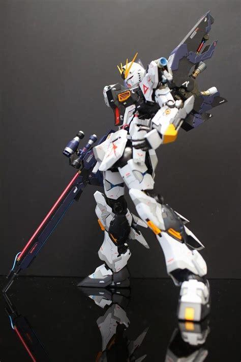 Mg Nu Gundam Ver Ka mg 1 100 nu gundam ver ka custom build gundam kits