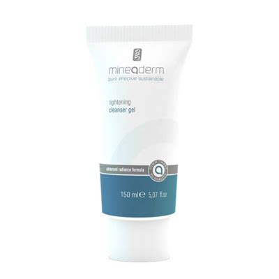 Cleanser Lightening Sabun Pengencang mineaderm lightening cleanser gel 150ml