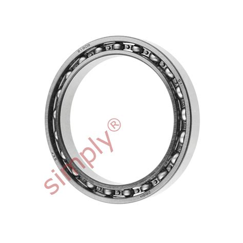 thin section ball bearings skf 6808 open type thin section deep groove ball bearing