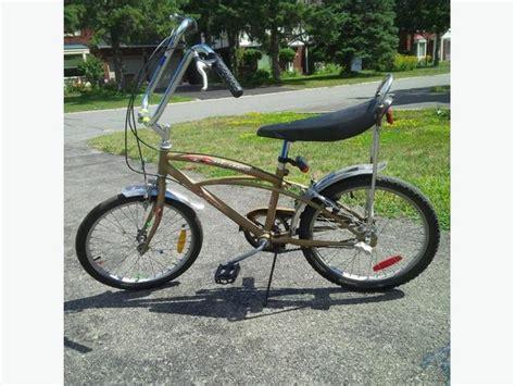 boys banana seat bike mustang banana seat boys bike nepean ottawa
