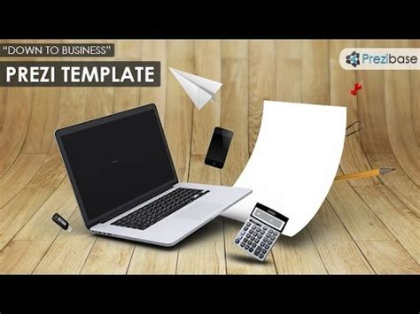 Down To Business 3d Prezi Template Youtube How To Choose A Template On Prezi Next