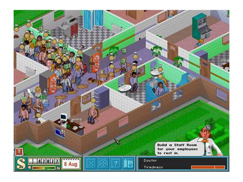 theme park hospital theme hospital demo download pobierz za darmo
