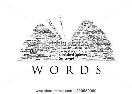libro words universites mdiascopie opened book made black words on stock illustration 220589989 shutterstock