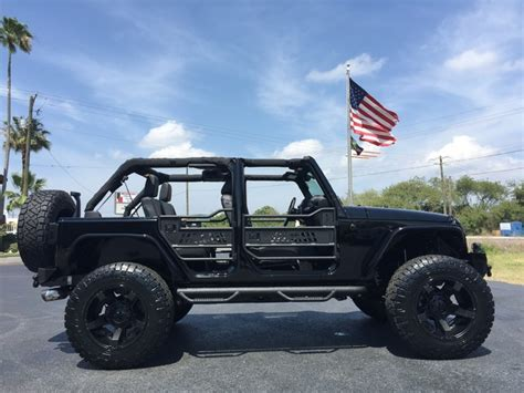 Jeep Wrangler Blacked Out 2016 Jeep Wrangler Black Out Custom 24s Hardtop