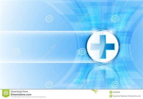 design for health medical health care logo on rectangle abstract design