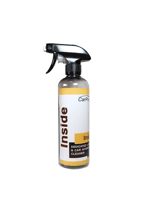 Leather Car Upholstery Cleaner by Carpro Inside Dedicated Leather Car Interior Cleaner