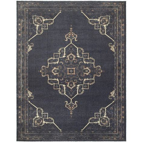 10 X 10 Ft Area Rugs - home decorators collection antiquity blue 7 ft 10 in x