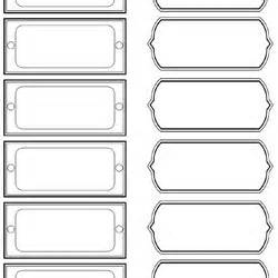 Box File Label Template by Free Printable Organizing Labels For All Your Stuff In