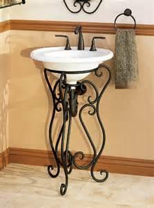 wrought iron bathroom vanities abode