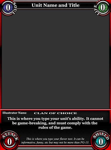 card gaming template tcg card template by classysecretagent on deviantart